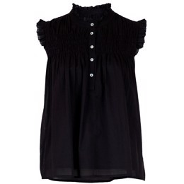 Yona Voile Top black