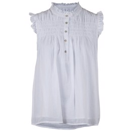 Yona Voile Top white