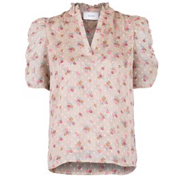 Pepe Dobby Flower Blouse