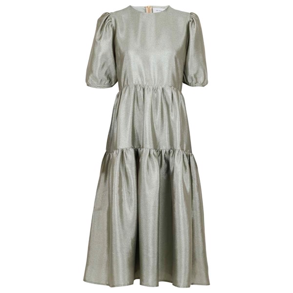 Nunu Solid Dress Dusty Green