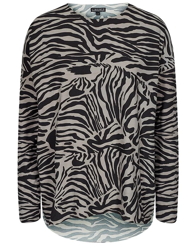 079b2cbf Liberté Alma zebra bluse