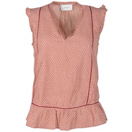 Kamelia crepe top shell ash rose