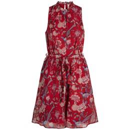 c8ed67febc16 YASORIA Chiffon rød kjole