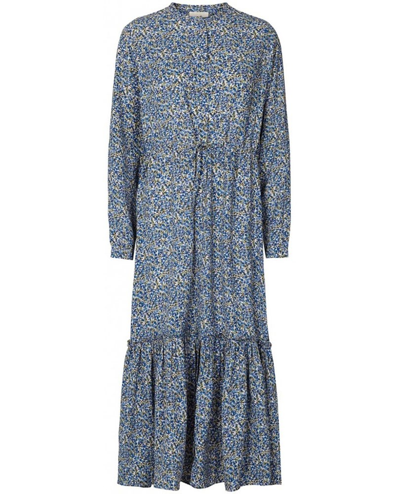 a094bfa8 Lollys Laundry Anastacia lang blå kjole