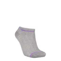 Dollie Zig Zag Sock light grey melange