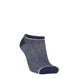 Dollie Zig Zag Sock navy
