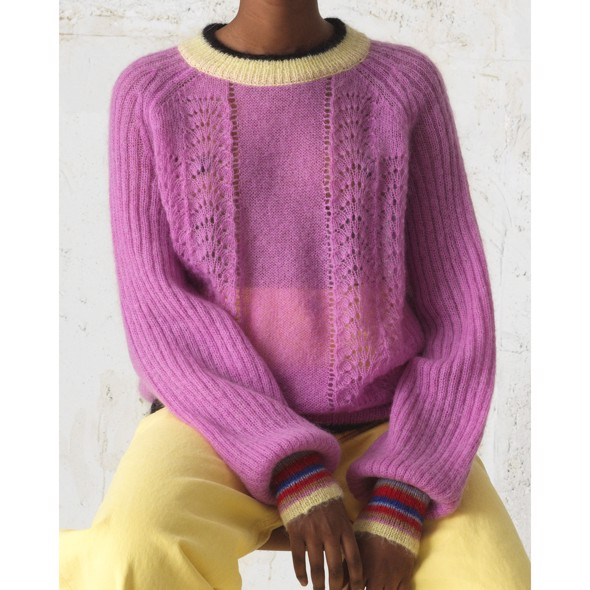 Solid Grace Sweater rose