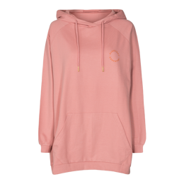 PENNY OVERSIZE HOODIE ROSA