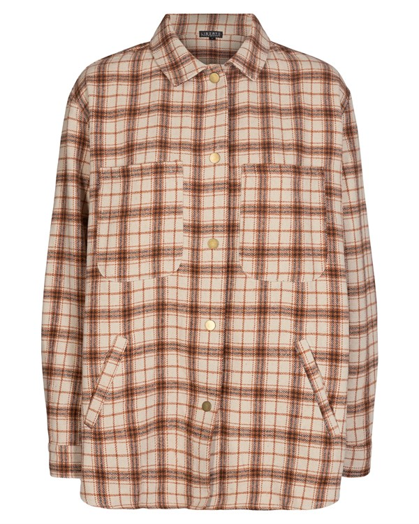 Karen shirt brown/check