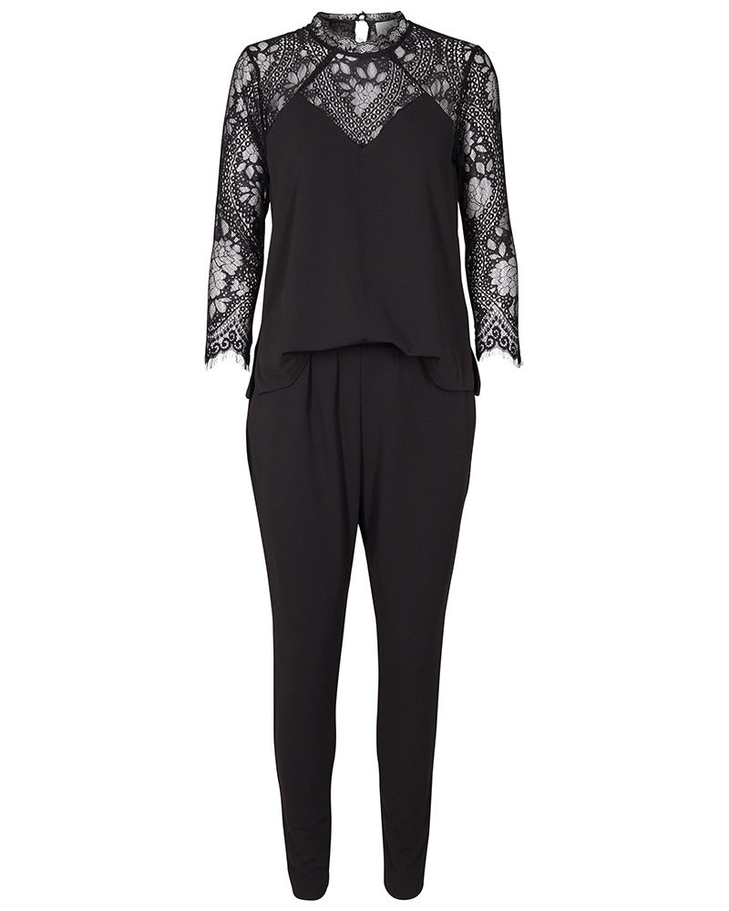 Tonic Lace jumpsuit black