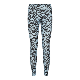 NINNI LEGGING LIGHT BLUE ZEBRA