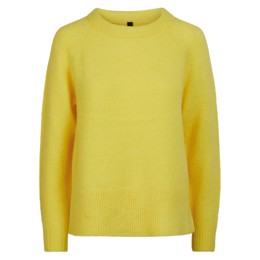 YASNEONA KNIT PULLOVER NEON