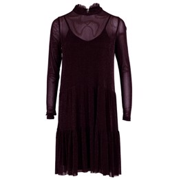 Kala Mesh dress bordeaux