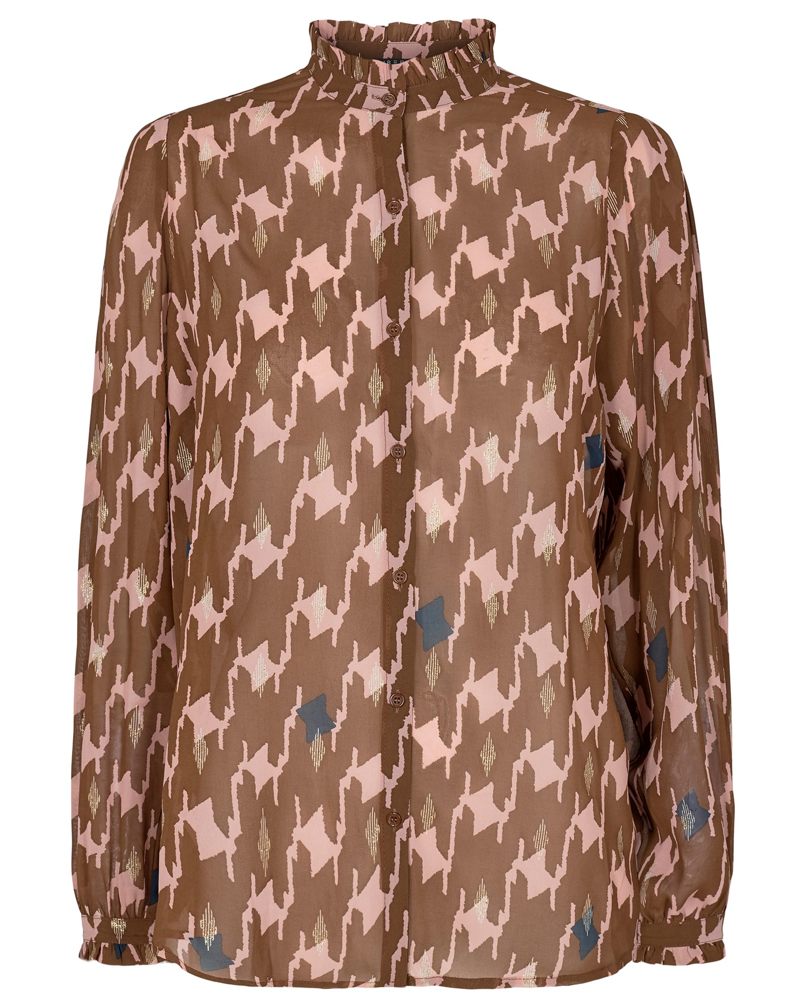 Karoline blouse brown