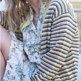 Nanna Cardigan Light Yellow
