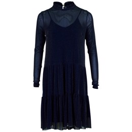 Kala Mesh dress navy