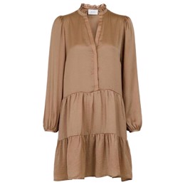 Federica Soft Dress Camel