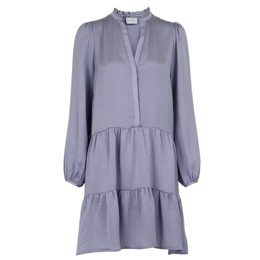 Federica Soft Dress Dusty Blue