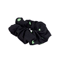 Scrunchie Mega Dot Green