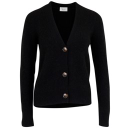 Gran knit cardigan black
