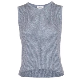 Vulcano Knit Vest light grey melange