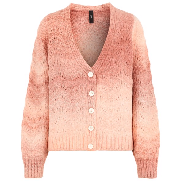 YASLENON KNIT CARDIGAN FT