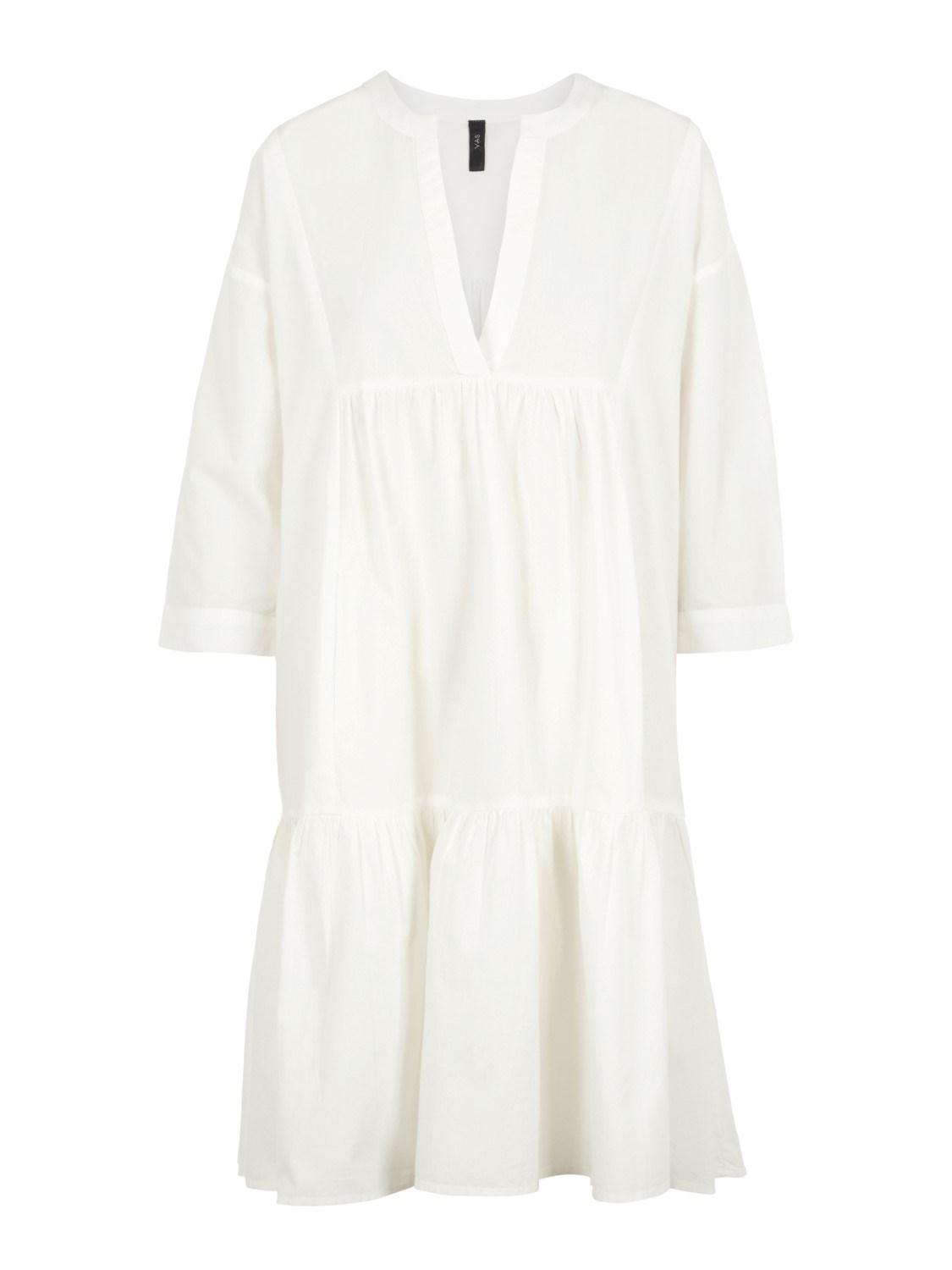YASMERIAN 3/4 DRESS - ICONS S. STAR WHITE